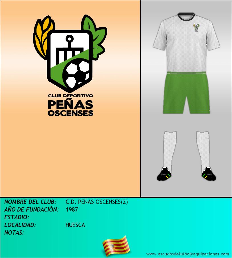 Escudo de C.D. PEÑAS OSCENSES(2)