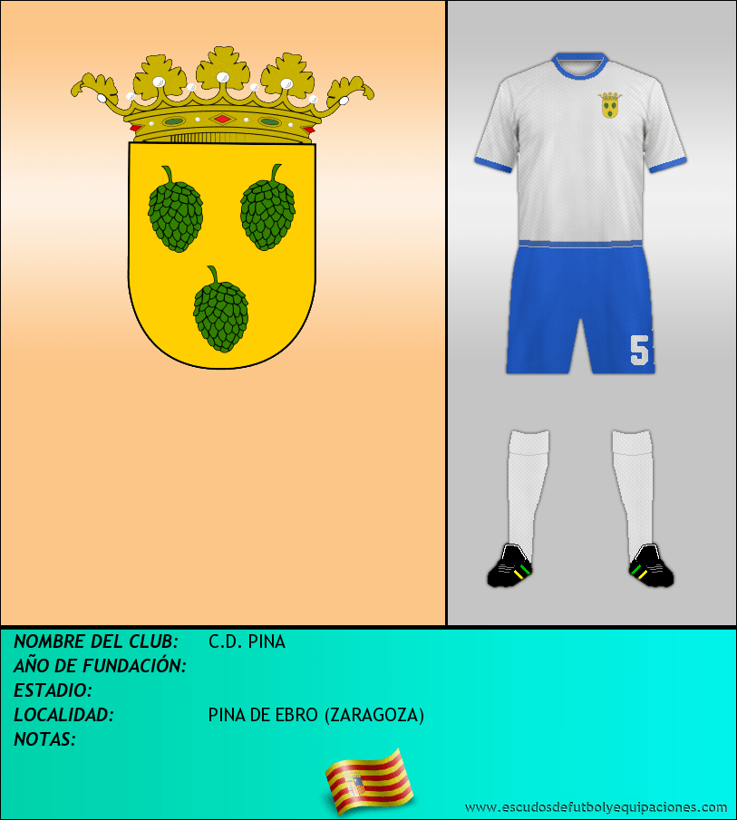 Escudo de C.D. PINA