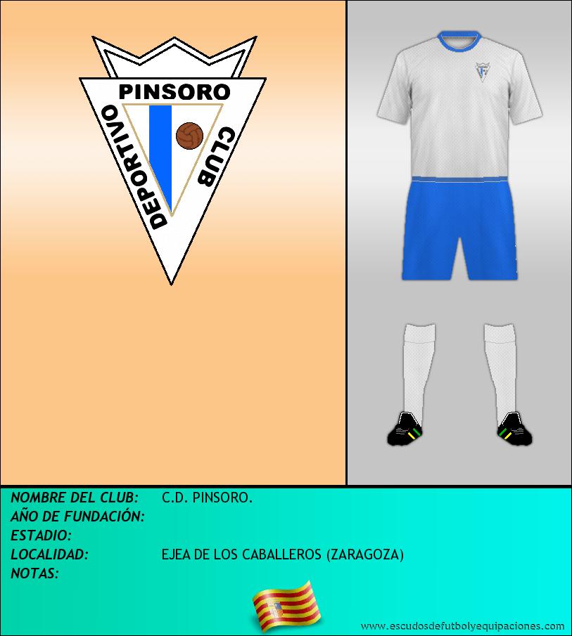 Escudo de C.D. PINSORO.