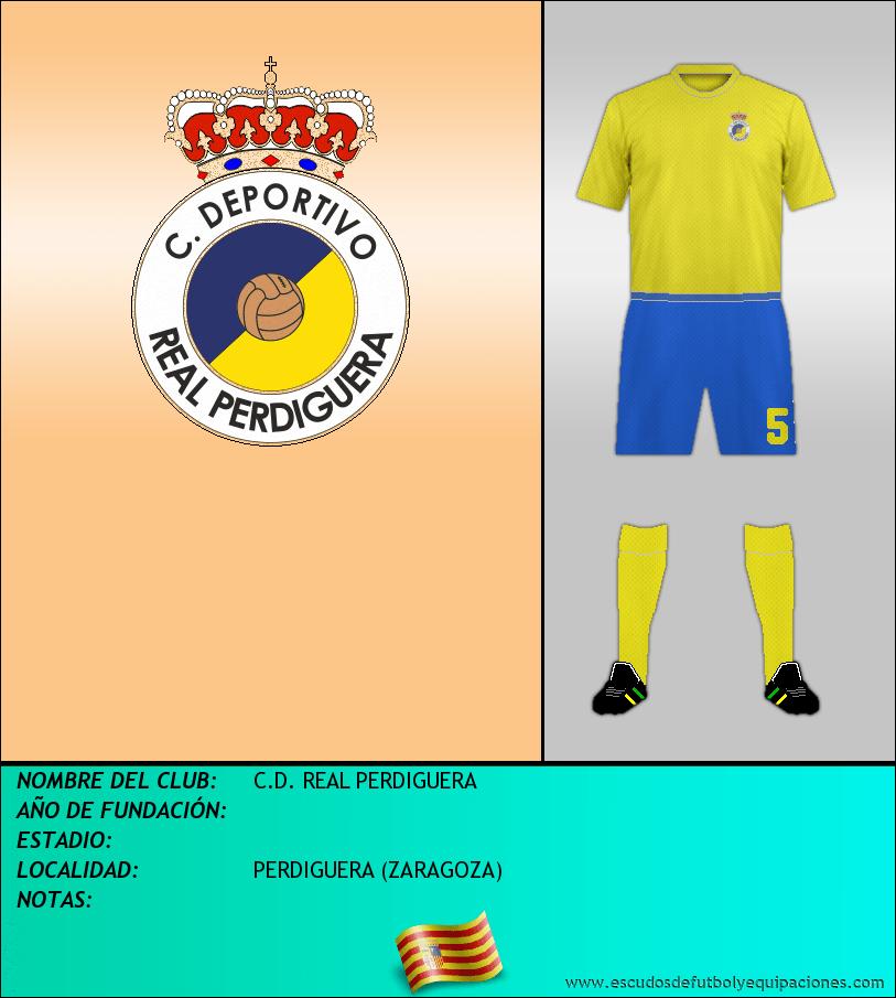 Escudo de C.D. REAL PERDIGUERA