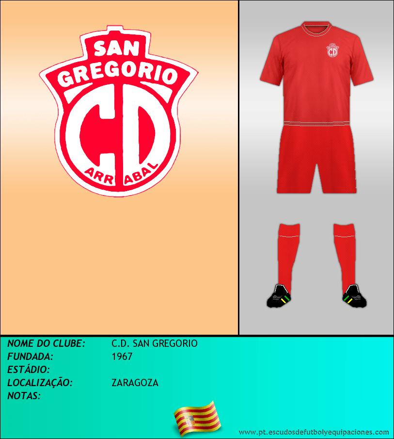 Escudo de C.D. SAN GREGORIO