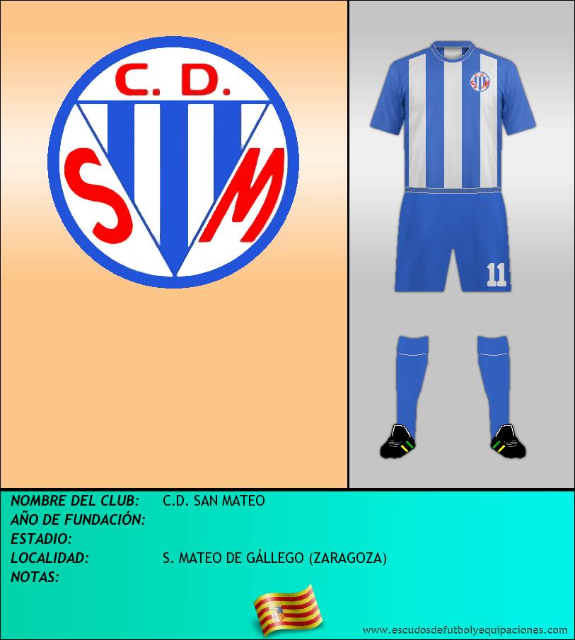 Escudo de C.D. SAN MATEO