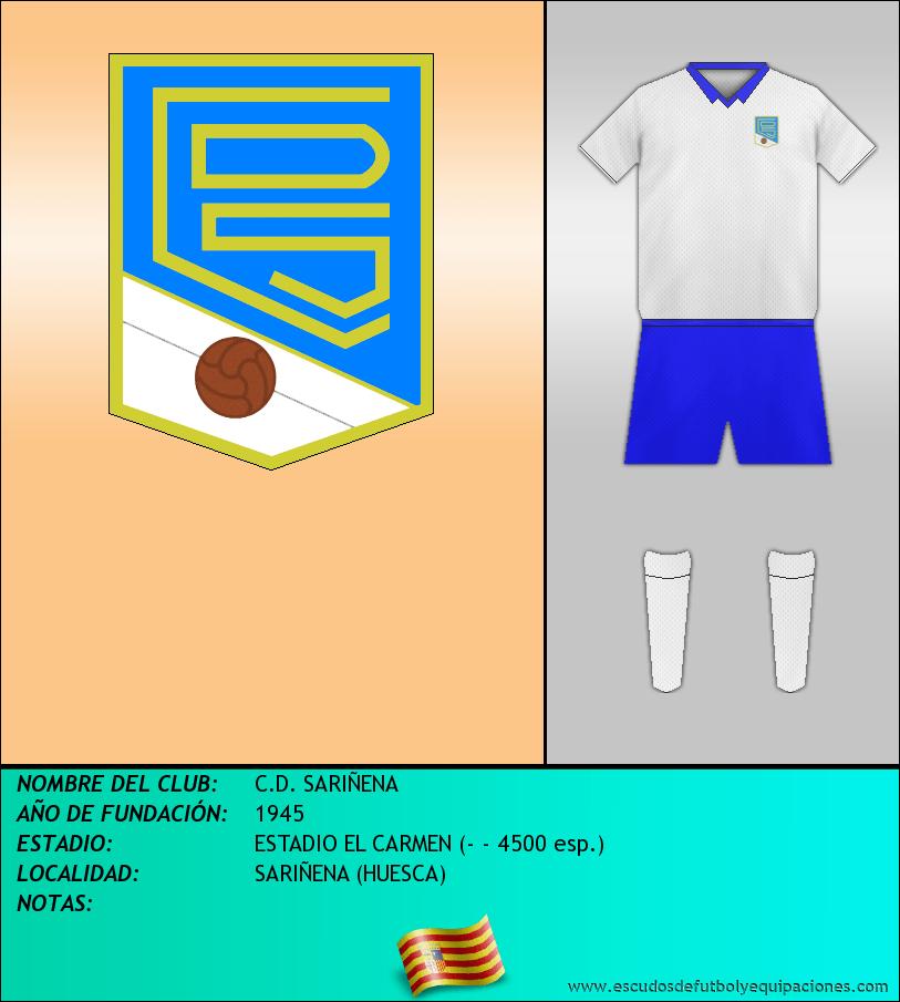 Escudo de C.D. SARIÑENA