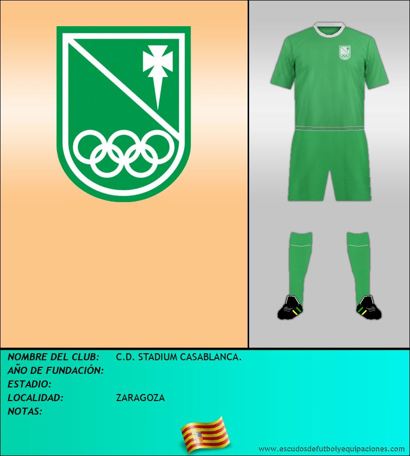 Escudo de C.D. STADIUM CASABLANCA.