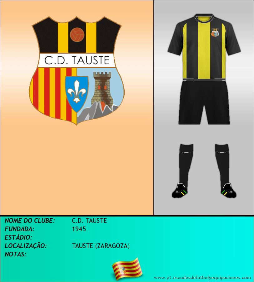 Escudo de C.D. TAUSTE
