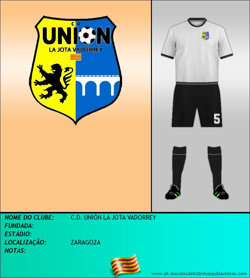 Escudo de C.D. UNIÓN LA JOTA VADORREY