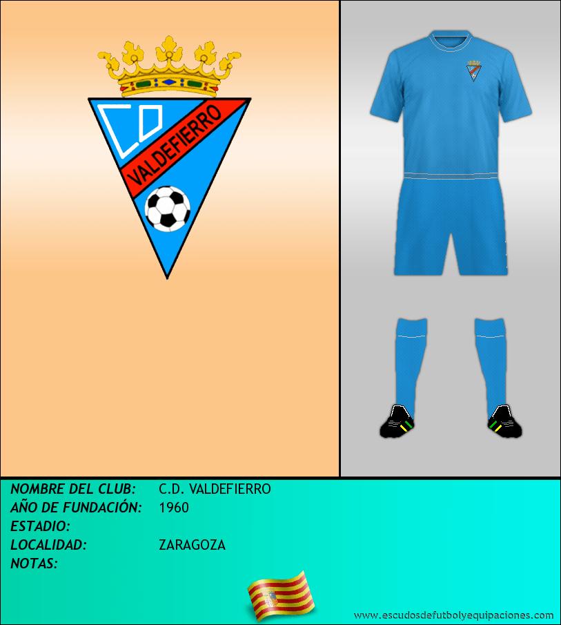 Escudo de C.D. VALDEFIERRO