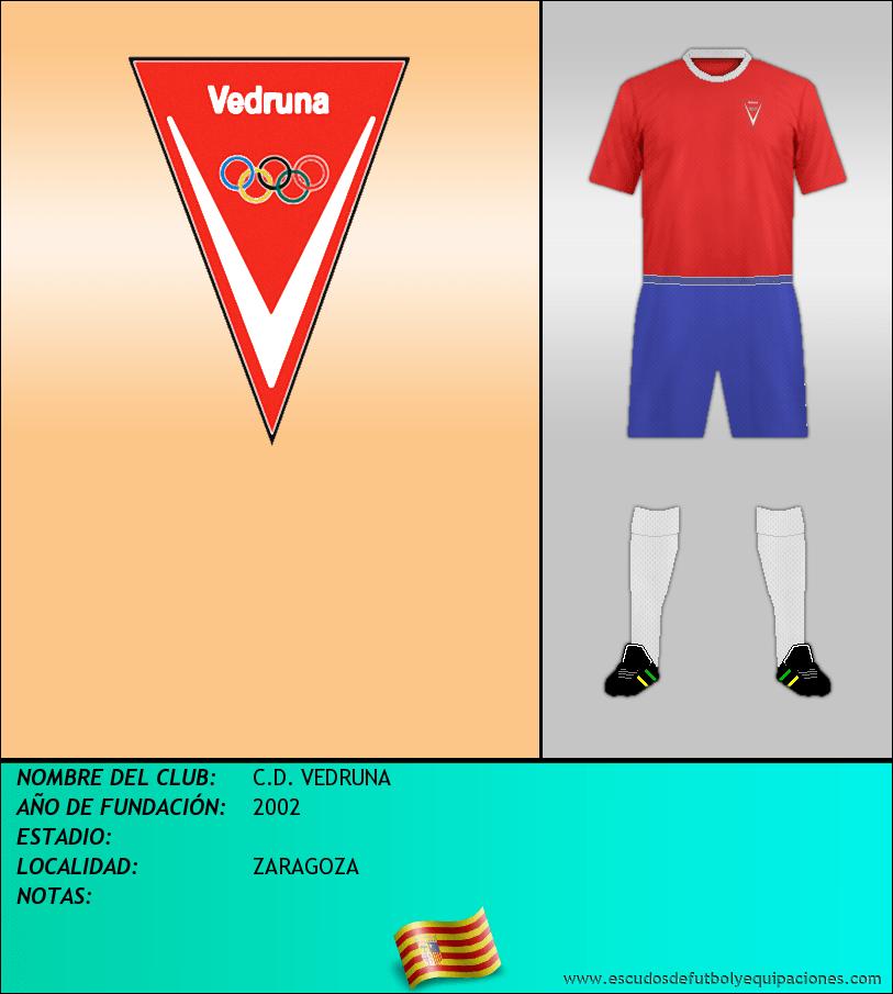 Escudo de C.D. VEDRUNA