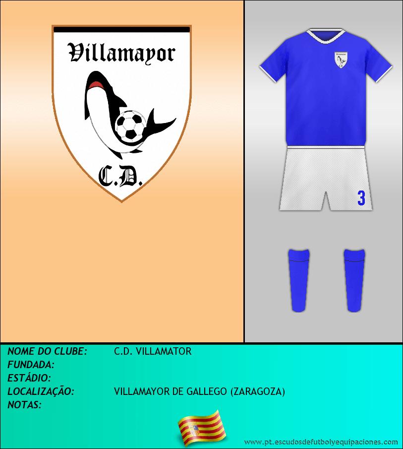 Escudo de C.D. VILLAMATOR