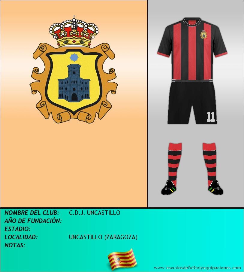 Escudo de C.D.J. UNCASTILLO