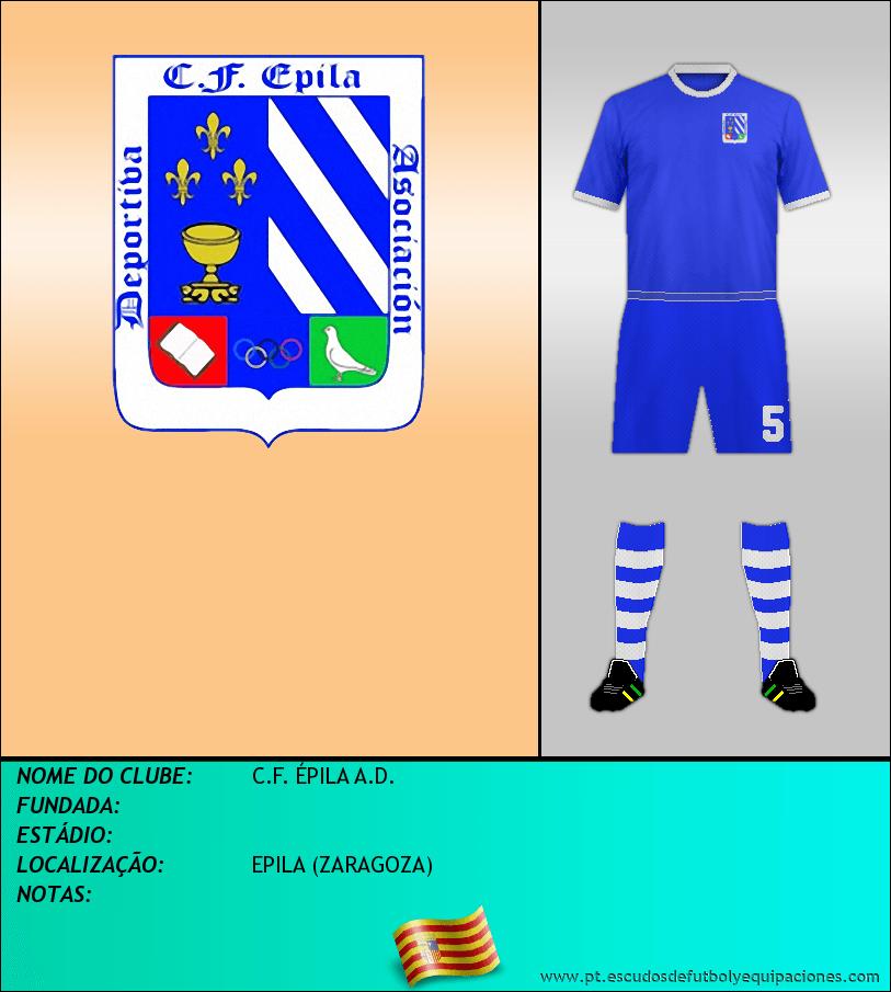 Escudo de C.F. ÉPILA A.D.