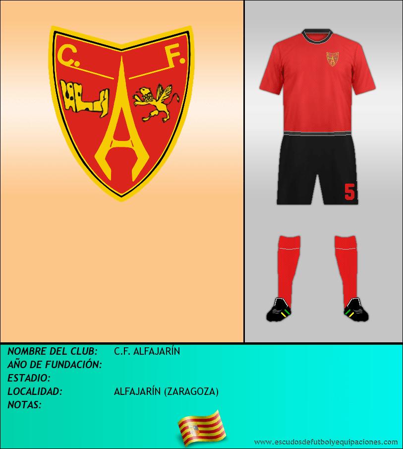 Escudo de C.F. ALFAJARÍN