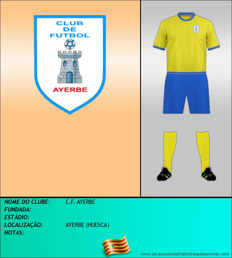 Escudo de C.F. AYERBE