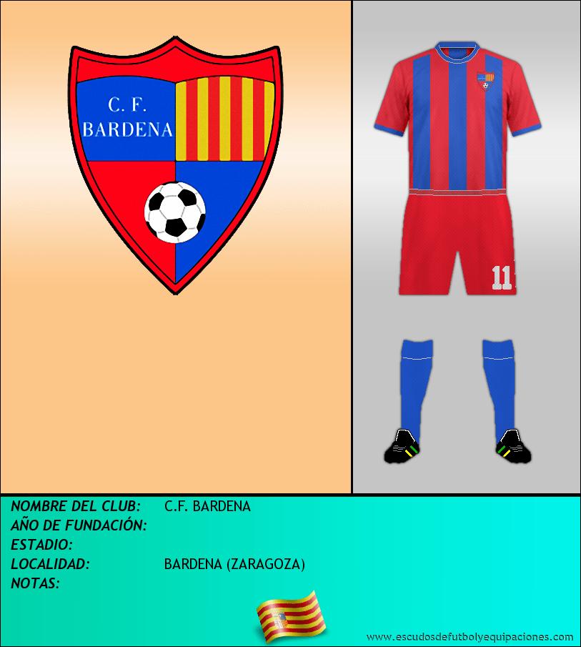 Escudo de C.F. BARDENA