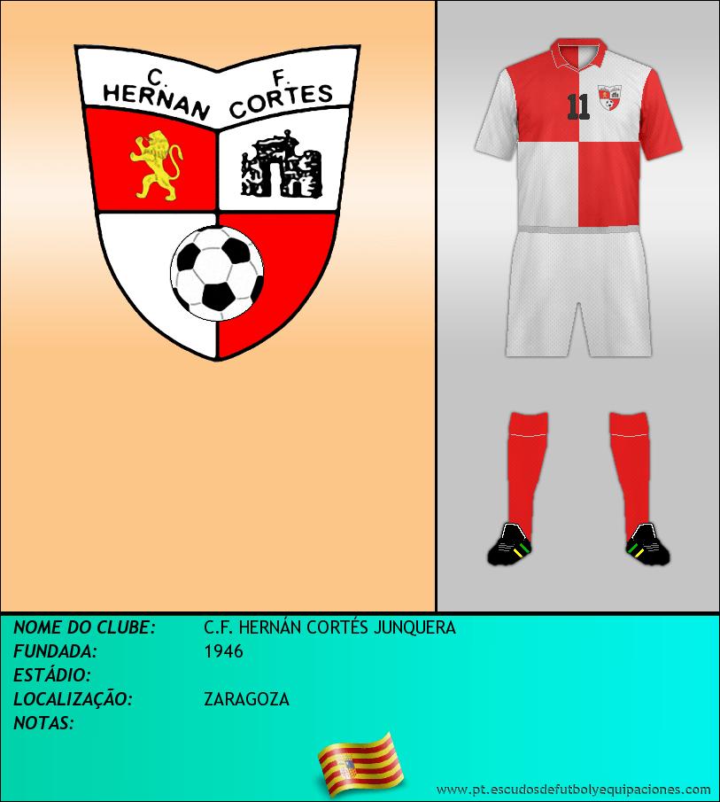 Escudo de C.F. HERNÁN CORTÉS JUNQUERA