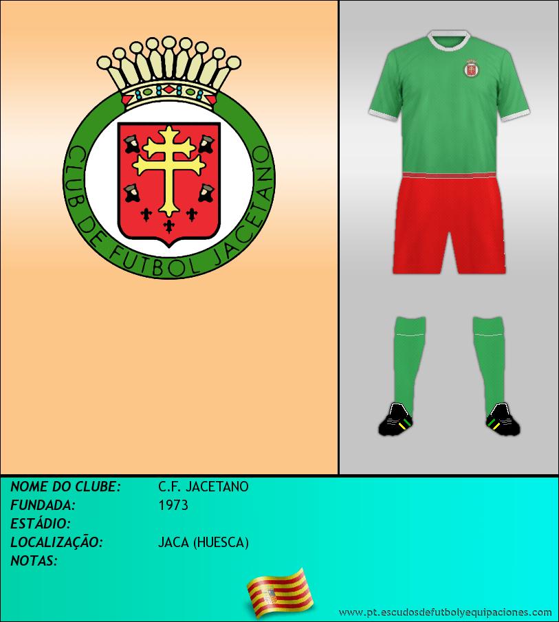 Escudo de C.F. JACETANO