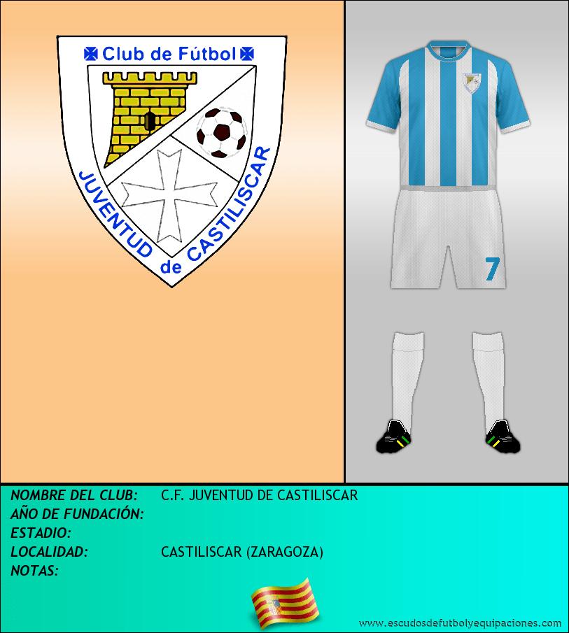 Escudo de C.F. JUVENTUD DE CASTILISCAR