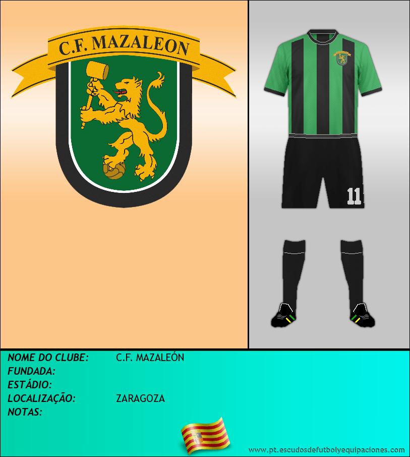 Escudo de C.F. MAZALEÓN