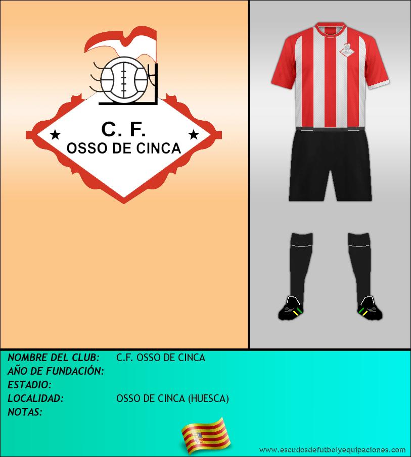 Escudo de C.F. OSSO DE CINCA