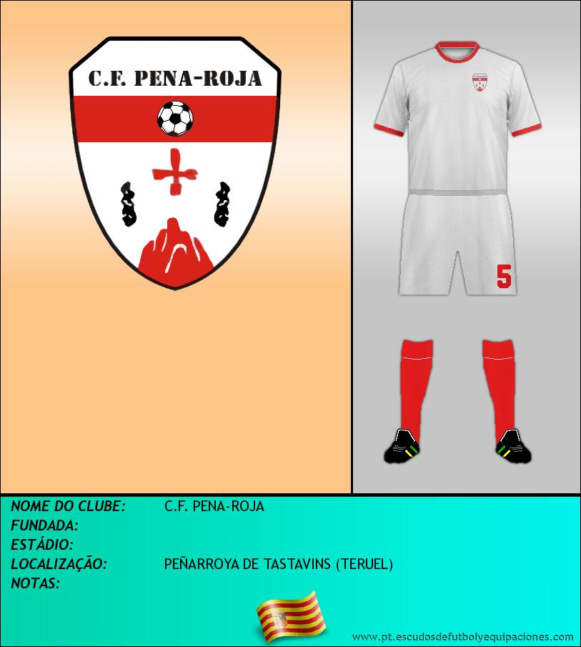 Escudo de C.F. PENA-ROJA