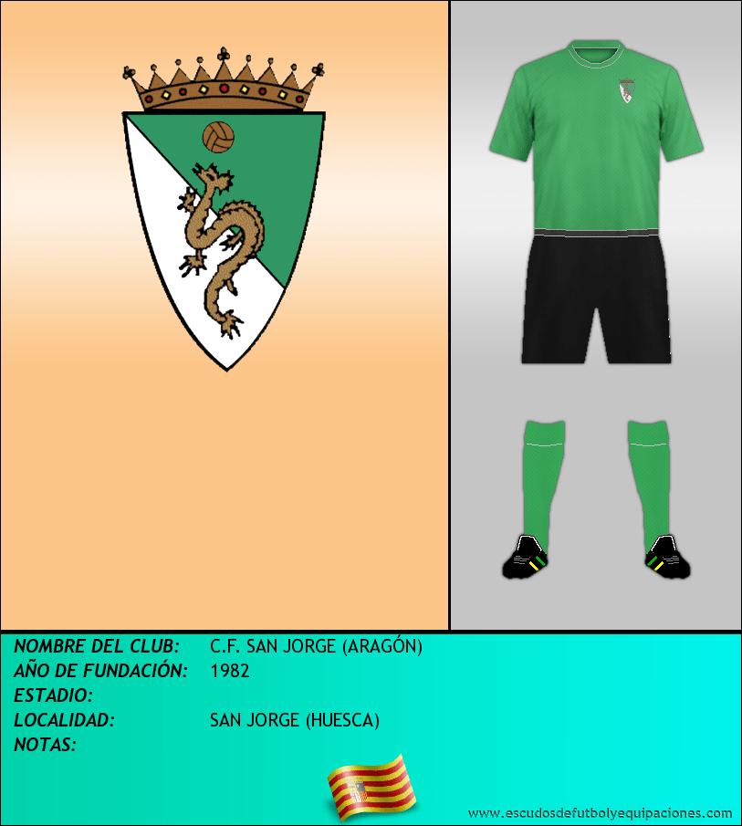 Escudo de C.F. SAN JORGE (ARAGÓN)