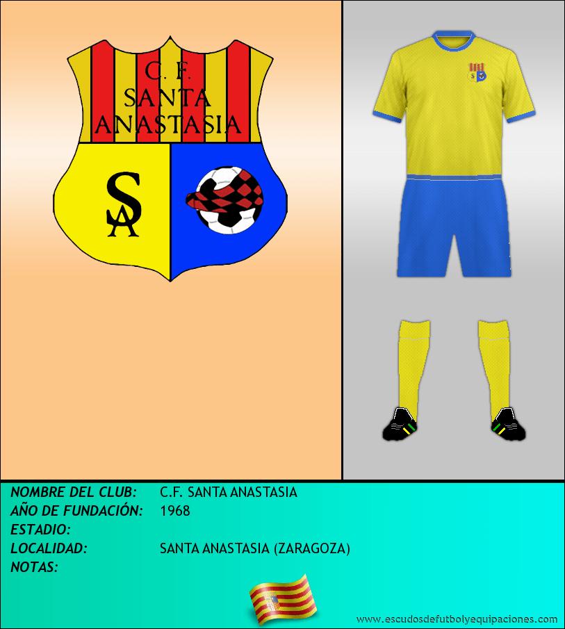 Escudo de C.F. SANTA ANASTASIA