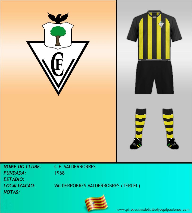 Escudo de C.F. VALDERROBRES