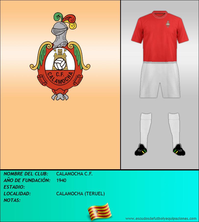 Escudo de CALAMOCHA C.F.