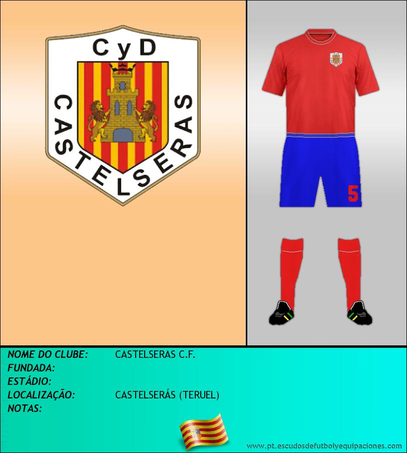 Escudo de CASTELSERAS C.F.
