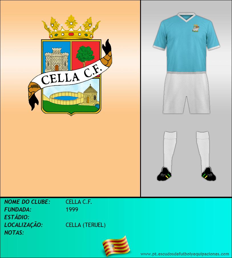 Escudo de CELLA C.F.