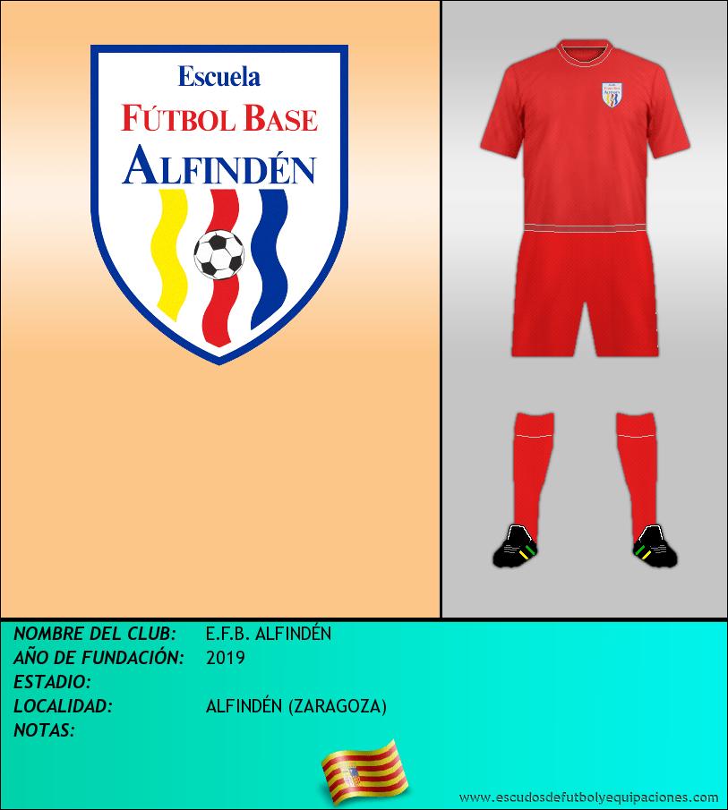 Escudo de E.F.B. ALFINDÉN