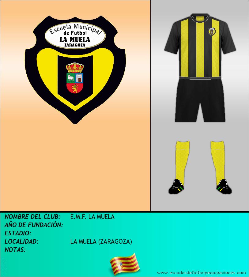 Escudo de E.M.F. LA MUELA