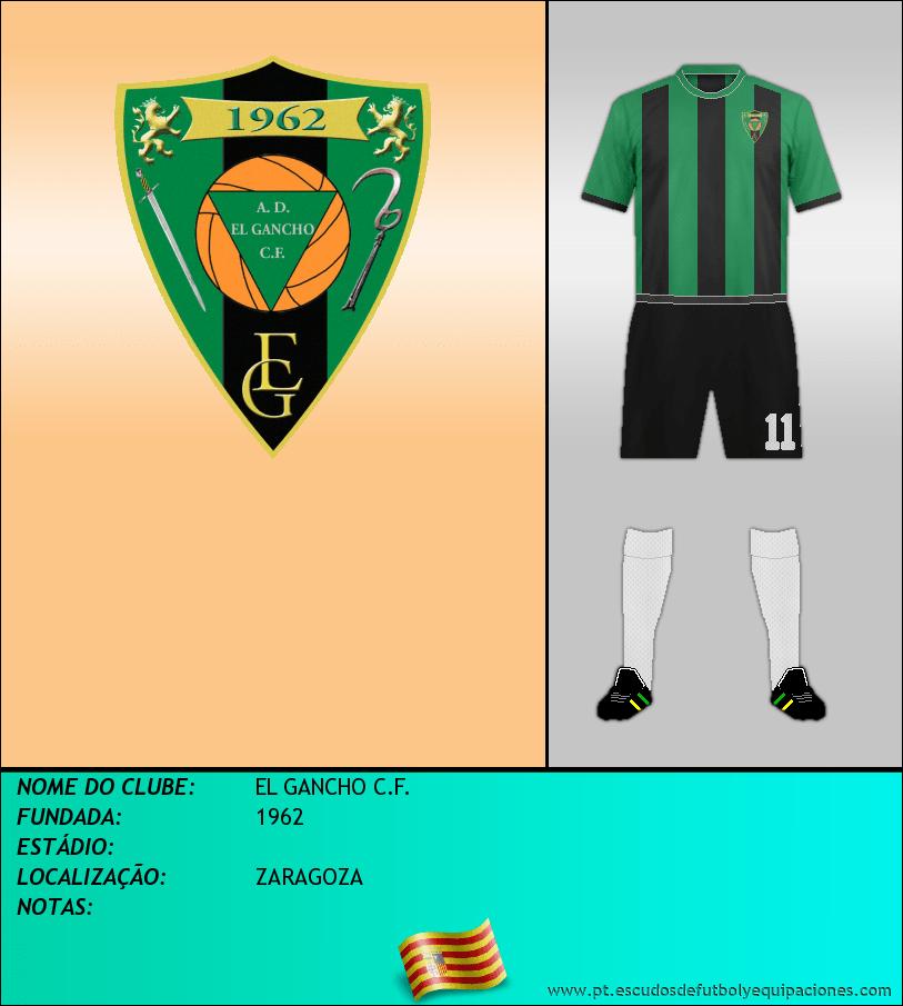 Escudo de EL GANCHO C.F.