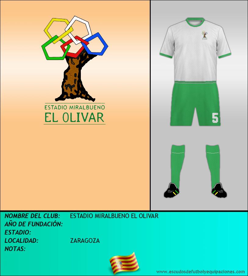 Escudo de ESTADIO MIRALBUENO EL OLIVAR