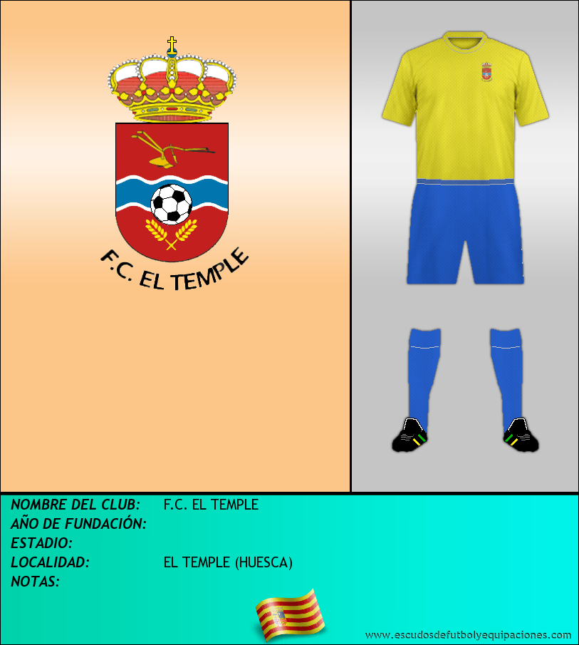 Escudo de F.C. EL TEMPLE