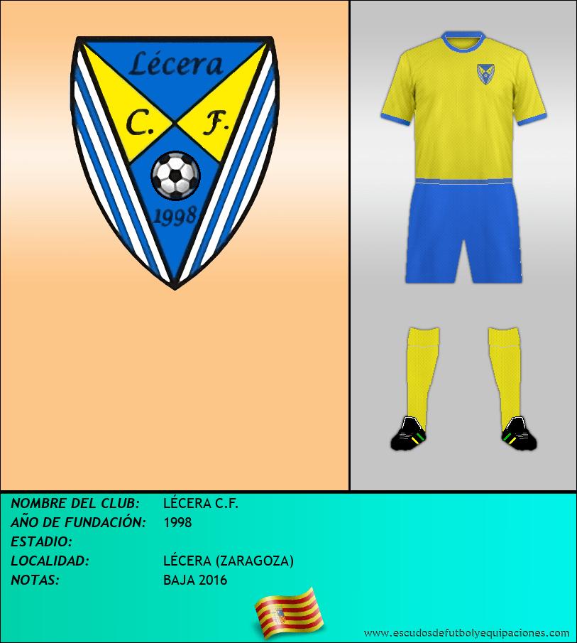 Escudo de LÉCERA C.F.