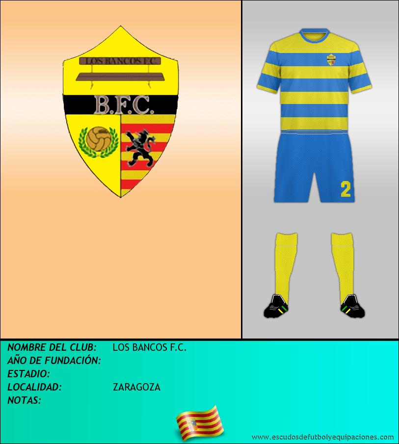 Escudo de LOS BANCOS F.C.