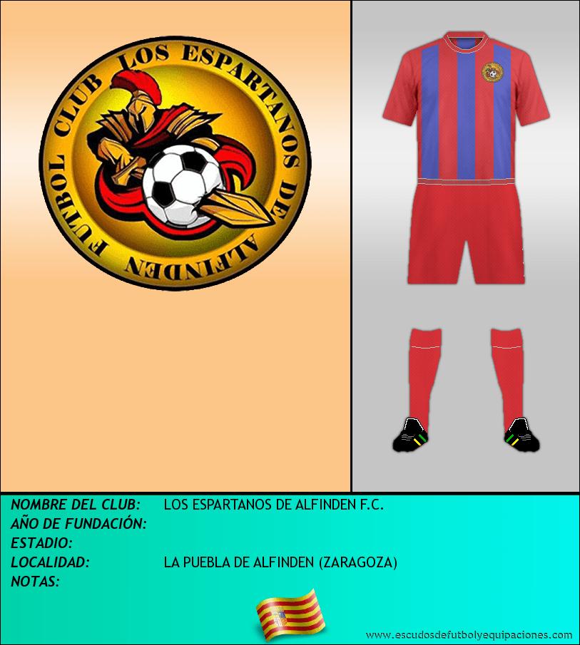 Escudo de LOS ESPARTANOS DE ALFINDEN F.C.