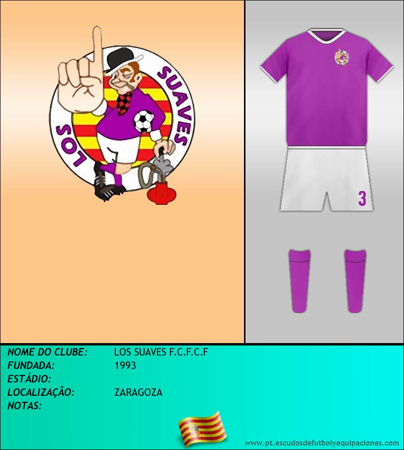 Escudo de LOS SUAVES F.C.F.C.F