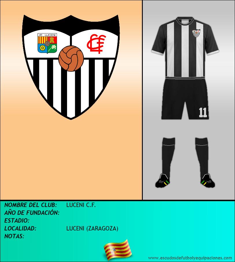 Escudo de LUCENI C.F.