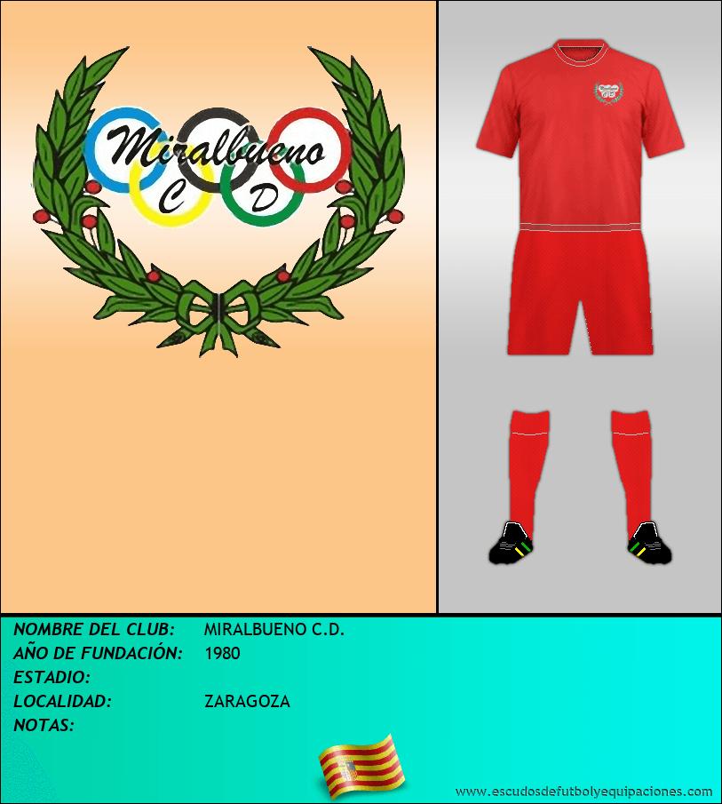 Escudo de MIRALBUENO C.D.