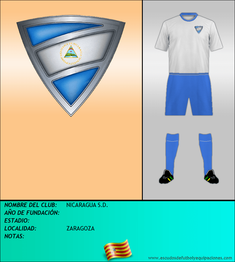 Escudo de NICARAGUA S.D.