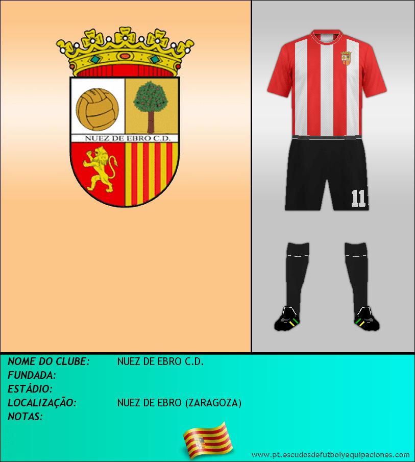 Escudo de NUEZ DE EBRO C.D.