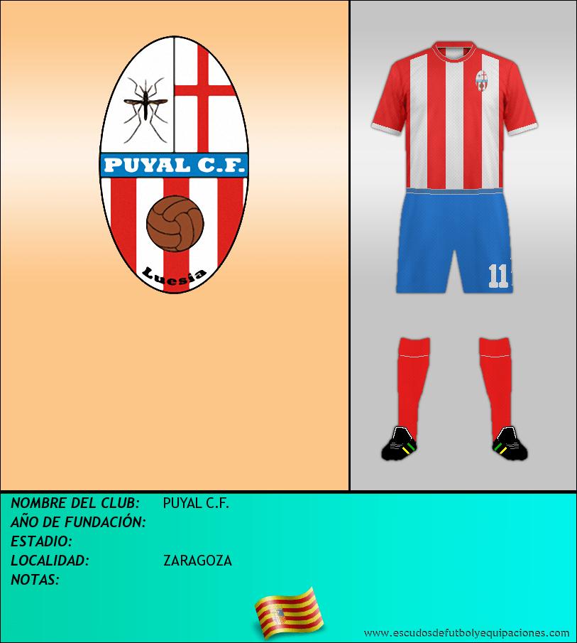 Escudo de PUYAL C.F.