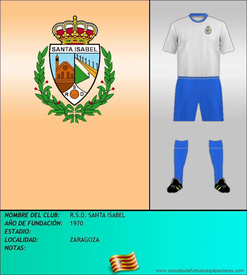 Escudo de R.S.D. SANTA ISABEL
