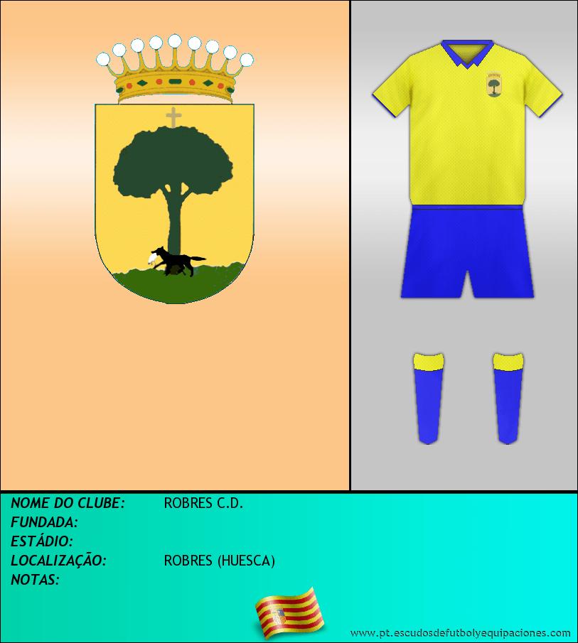 Escudo de ROBRES C.D.