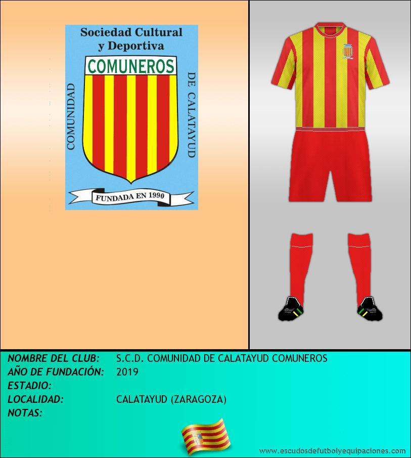 Escudo de S.C.D. COMUNIDAD DE CALATAYUD COMUNEROS
