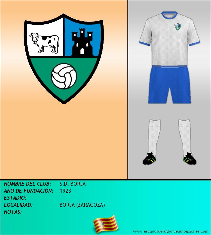 Escudo de S.D. BORJA