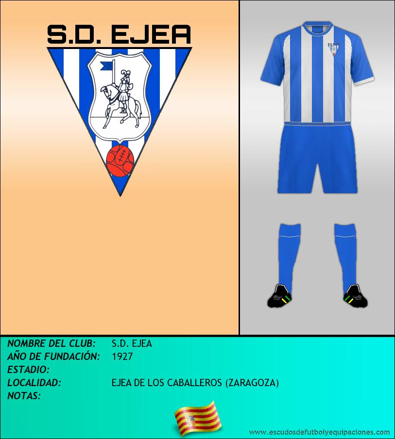Escudo de S.D. EJEA