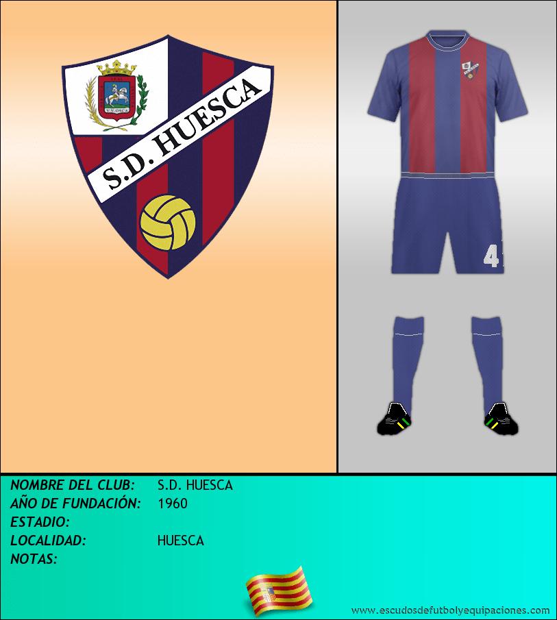 Escudo de S.D. HUESCA